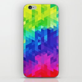 Abstract LGBT Pattern iPhone Skin
