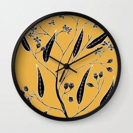 Bloodwood - Eucalyptus polycarpa Wall Clock