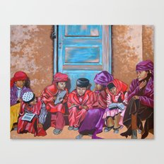 Muslim Children Canvas Print