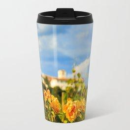 Sunset in the vineyards of Rosazzo Travel Mug
