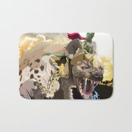 Pet Hyena Bath Mat