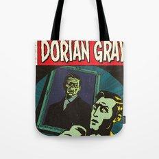 Oscar Wilde's Dorian Gray: Vintage Comic Cover Tote Bag
