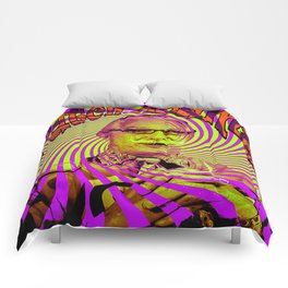 Psychedelic Patch Adams  Comforters