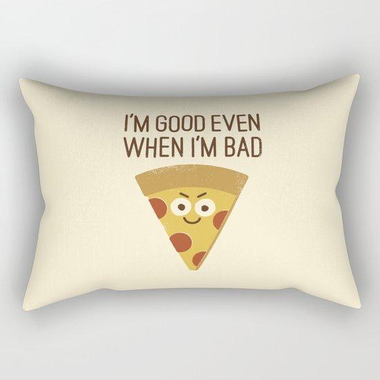 Mozzarelativity Rectangular Pillow