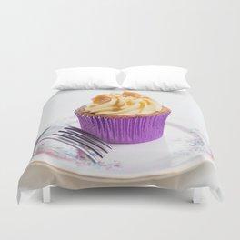 Banoffee Cupcake Duvet Cover