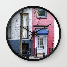Old Greenwich Village apartment Wall Clock