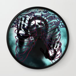 The Prisoner Wall Clock