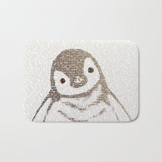 The Little Intellectual Penguin Bath Mat