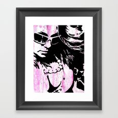 Trying Our Best to Feel Alive Framed Art Print