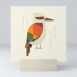 Laughing Kookaburra Mini Art Print