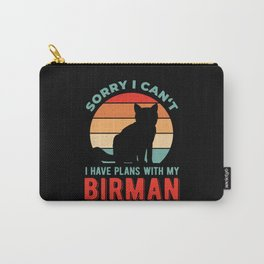 Funny Birman Cat Quotes Carry-All Pouch