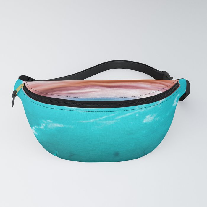 Fire and Water Sea Fanny Pack