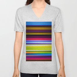 Light Beams Unisex V-Neck