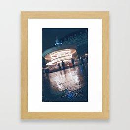 Paris Ferris Framed Art Print