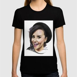 Demi Coloured Pencil Drawing T-shirt