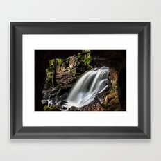 Caves at Lumsdale Framed Art Print