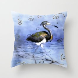 Artfully In Stride Throw Pillow