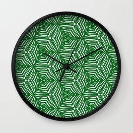 Love green 01 Wall Clock
