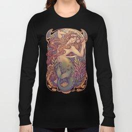 Andersen Little Mermaid Nouveau Long Sleeve T-shirt