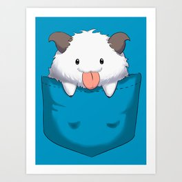 Pocket Poro Art Print