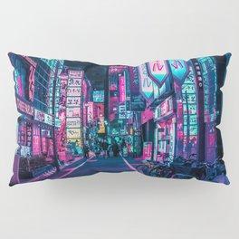 A Neon Wonderland called Tokyo Pillow Sham
