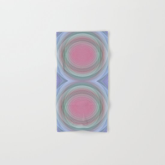 Patterns, Pastels and Motion Abstract Hand & Bath Towel