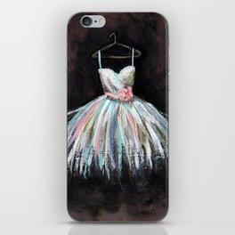 Ballerina Dress 3 - Painting iPhone Skin