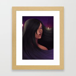 Drop light Framed Art Print