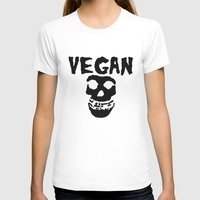 misfits T-shirts featuring vegan misfits by sQuoze
