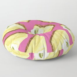 Key lime pie Floor Pillow