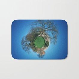 Tiny Planet 3 - City Limits Bath Mat