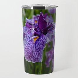 Garden Party (irises) Travel Mug