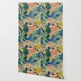 Landscape at Collioure - Henri Matisse - Exhibition Poster Wallpaper