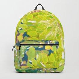 Leaf Pile Mandala Backpack