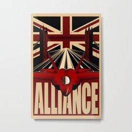 Alliance Metal Print