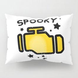 Spooky Check engine light Pillow Sham