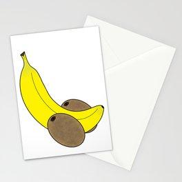 Banana And Kiwis Stationery Cards
