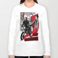 hannibal Long Sleeve T-shirts featuring Hannibal! by Ginger Breo