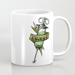 Injecting Humor Tattoo Coffee Mug