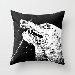 Stay Tenacious Throw Pillow
