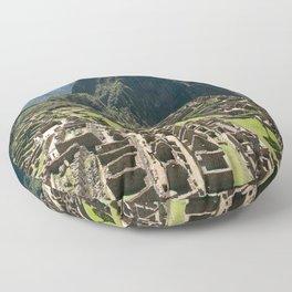 Machu hu Peru Floor Pillow