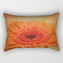 take time to look at flowers -20- Rectangular Pillow