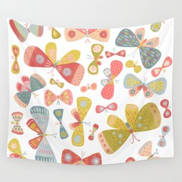 Butterfly Tango Light Wall Tapestry