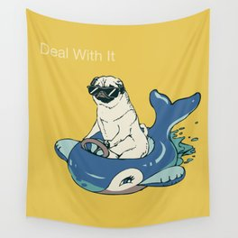Deal With It Wall Tapestry