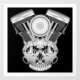 Motor Mind Art Print