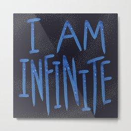 I Am Infinite Metal Print