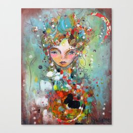 Beautiful Wishes Canvas Print
