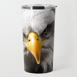 Mean Bald Eagle Travel Mug