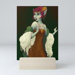 20s Wood Nymph Brinly Mini Art Print