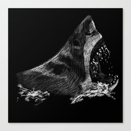 Great White 2 Canvas Print